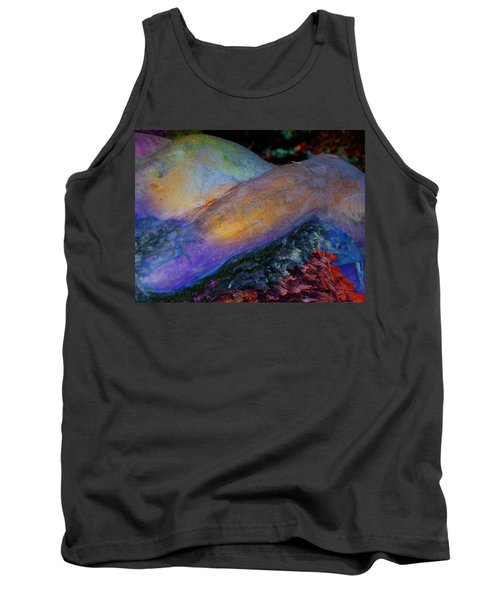 Tank Top featuring the digital art Spirit's Call by Richard Laeton