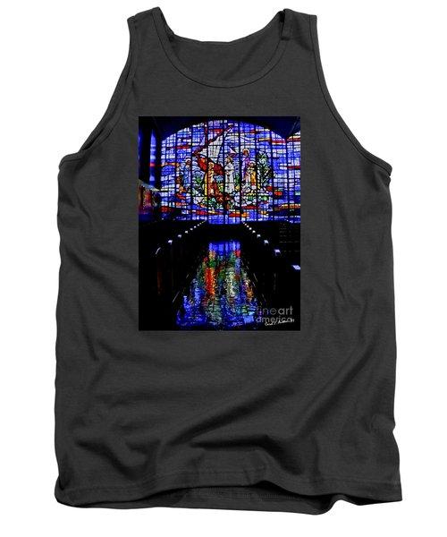House Of God - Spiritual Awakening Tank Top by Carol F Austin