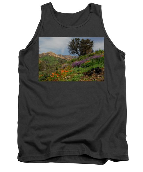 Tank Top featuring the photograph Spring In Santa Barbara by Lynn Bauer