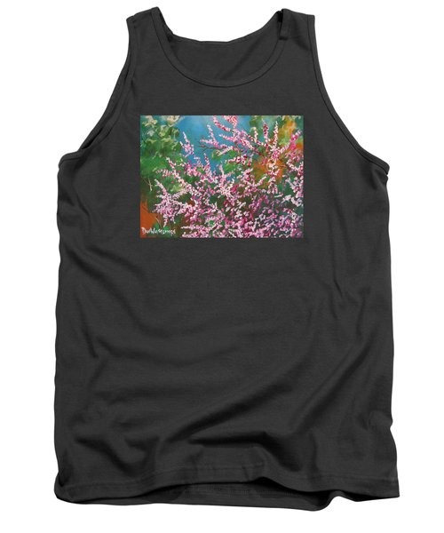 Tank Top featuring the painting Springs Blossoms  by Dan Whittemore