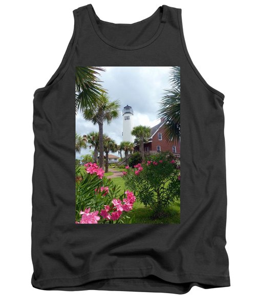 St. George Island Lighthouse Tank Top