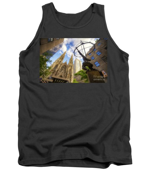 Statue And Spires Tank Top