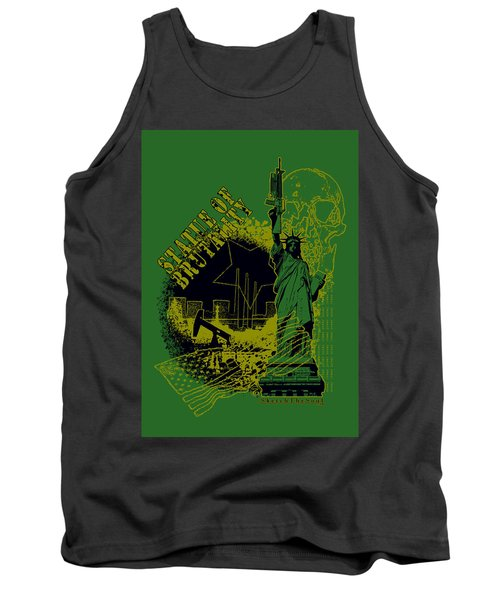 Statue Of Brutality  Tank Top by Tony Koehl