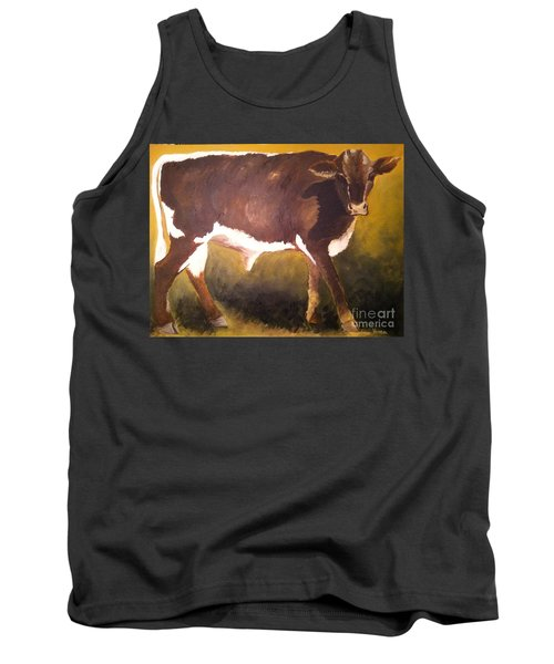 Steer Calf Tank Top
