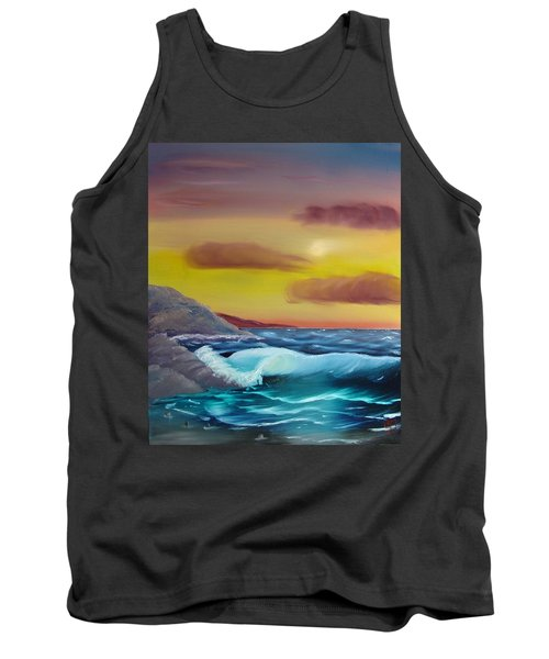 Stormy Beach Tank Top
