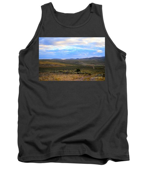 Stormy Wyoming Sunrise I Tank Top