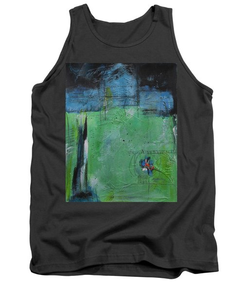Tank Top featuring the painting Summer by Nicole Nadeau
