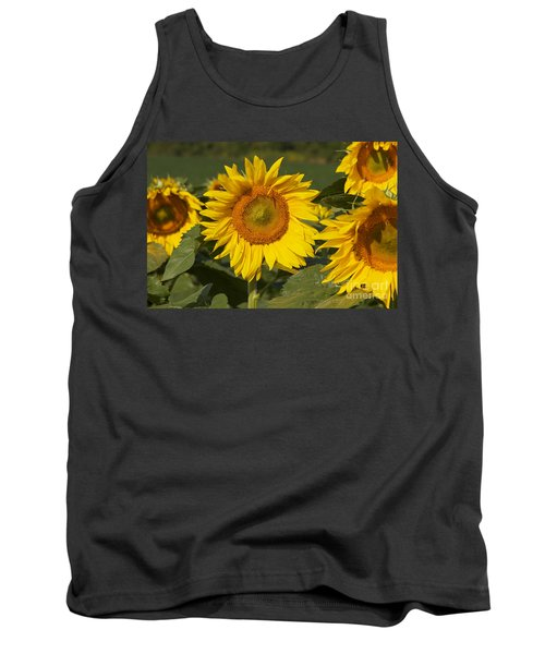 Tank Top featuring the photograph Sun Flower by William Norton