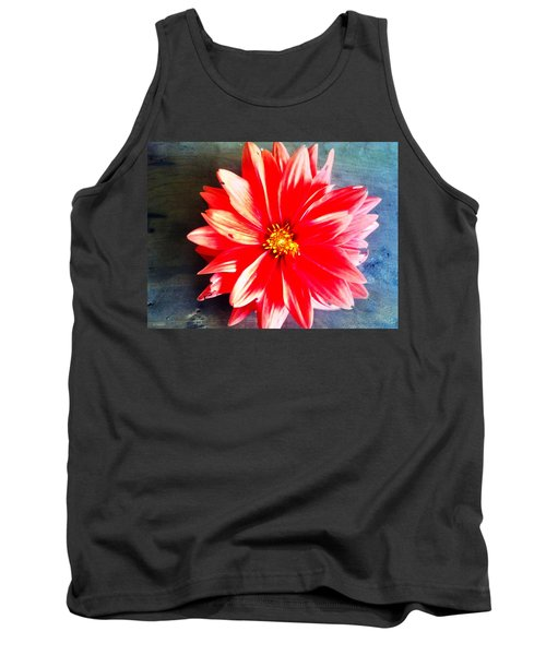 Tank Top featuring the photograph Sunburst by Janice Spivey