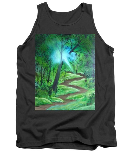 Sunlight In The Forest Tank Top