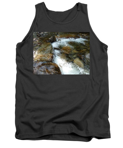 Sunlit Cascade Tank Top by Joel Deutsch