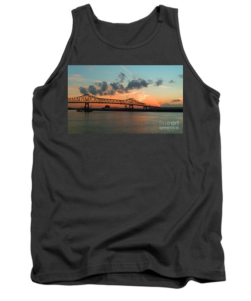 Sunset On The Mississippi  Tank Top