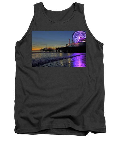 Sunset Purple Tank Top