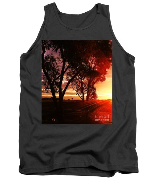 Sunset Through The Trees Tank Top