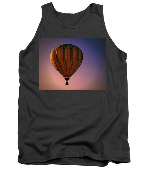Tank Top featuring the digital art Sunset Tranquility  by Gary Baird