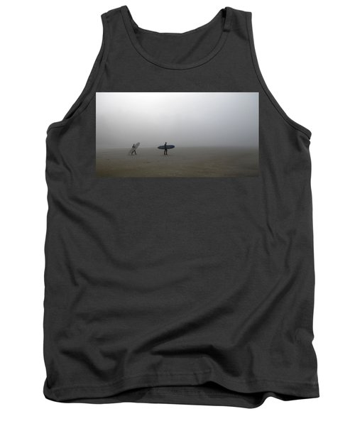 Surfing Into The Abyss Tank Top