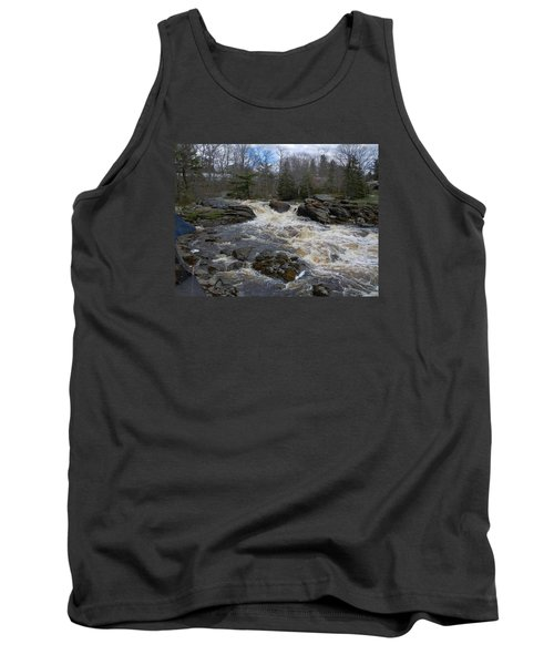 Tank Top featuring the photograph Surry Falls by Francine Frank