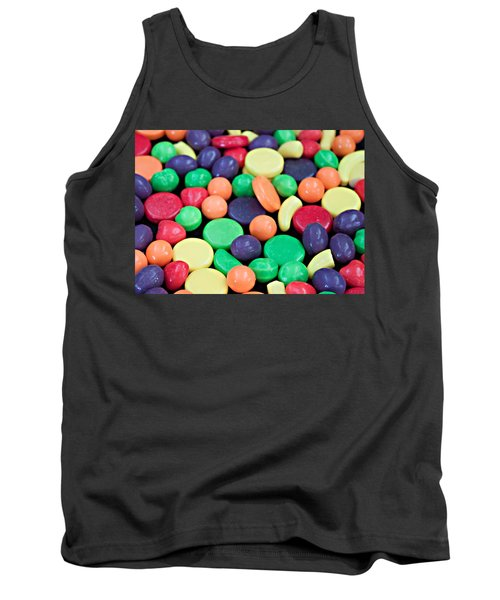 Tank Top featuring the photograph Sweet Candy Galore  by Sherry Hallemeier