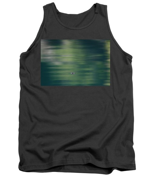 Swimming Beetle Tank Top by Cathie Douglas
