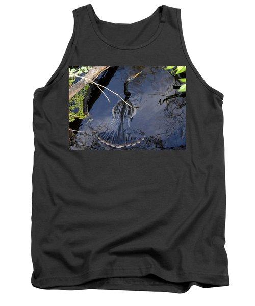 Swimming Bird Tank Top