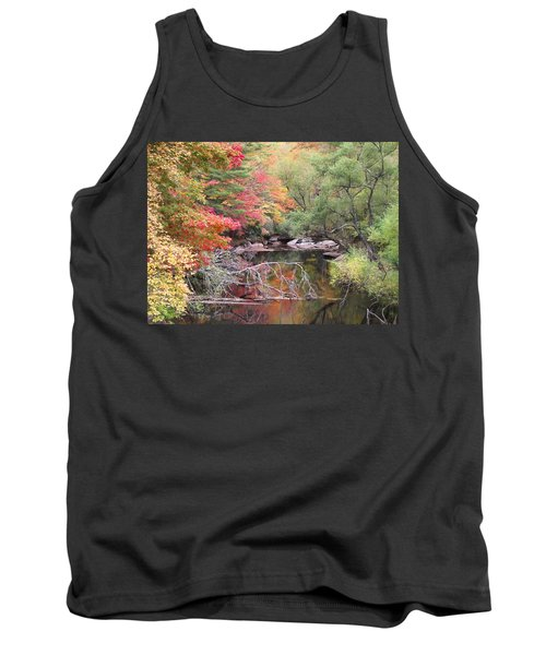 Tanasee Creek In The Fall Tank Top