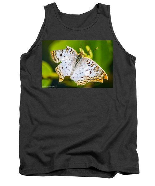 Tank Top featuring the photograph Tattered Moth by Shannon Harrington