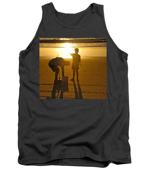 Tank Top featuring the photograph Teach A Man To Fish... by Eric Tressler