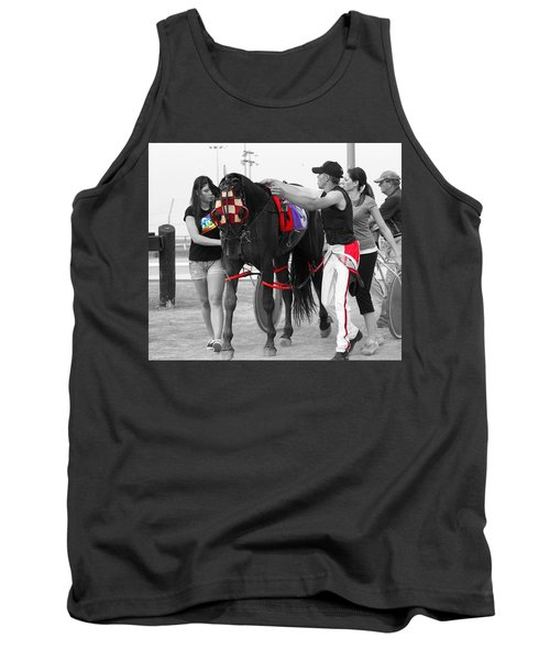 Tank Top featuring the photograph The Backside by Davandra Cribbie