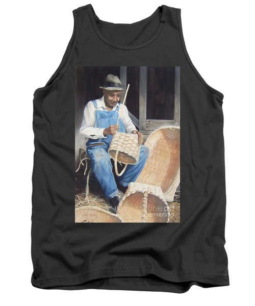 The Basket Maker ...sold  Tank Top