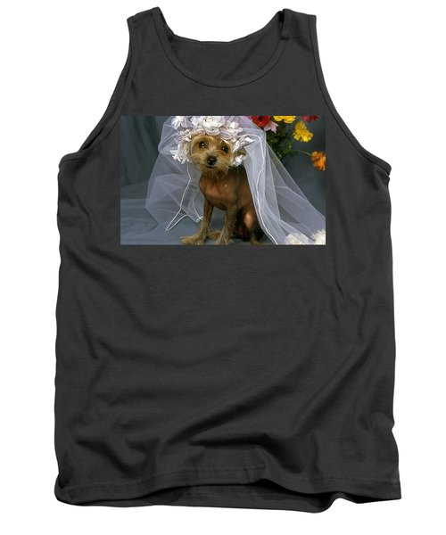 The Bride Is A Real Dog Tank Top