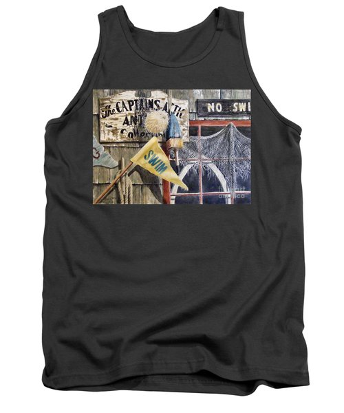 The Captains Attic Sold Tank Top