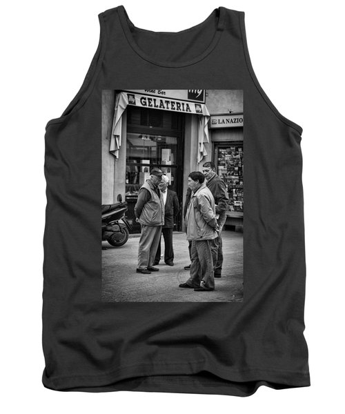 Tank Top featuring the photograph The Conference by Hugh Smith