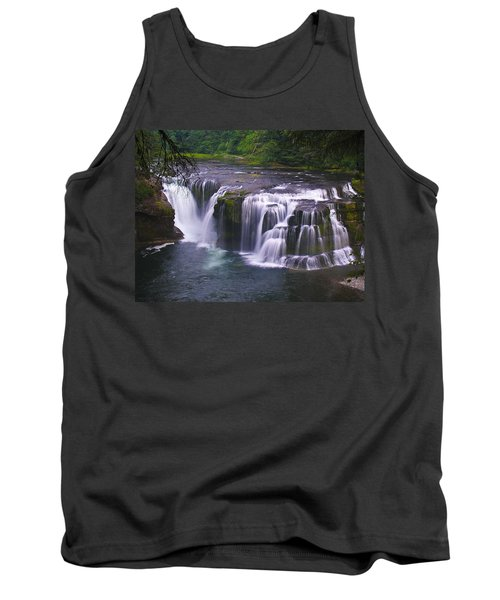 Tank Top featuring the photograph The Falls by David Gleeson