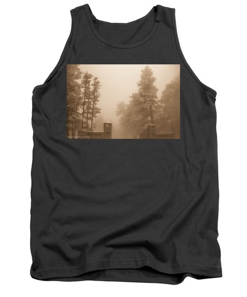 Tank Top featuring the photograph The Fog by Shannon Harrington