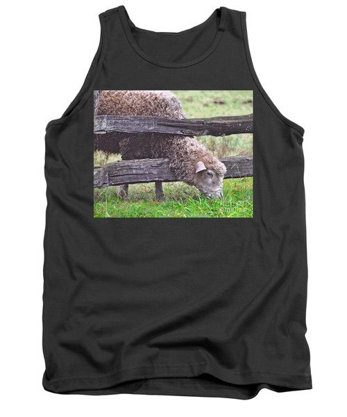 Tank Top featuring the photograph The Grass...on The Other Side by Lydia Holly