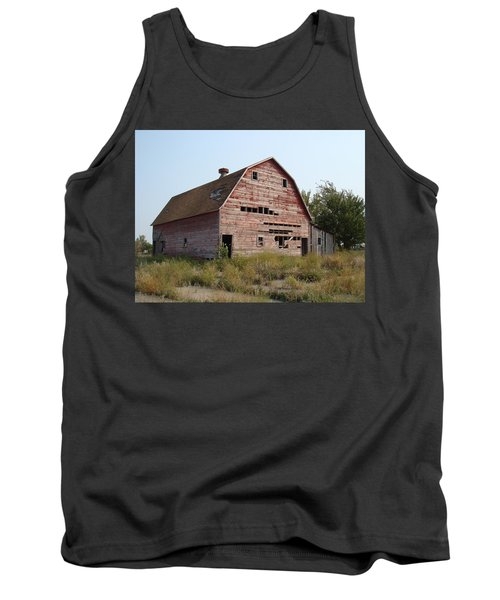 Tank Top featuring the photograph The Hole Barn by Bonfire Photography