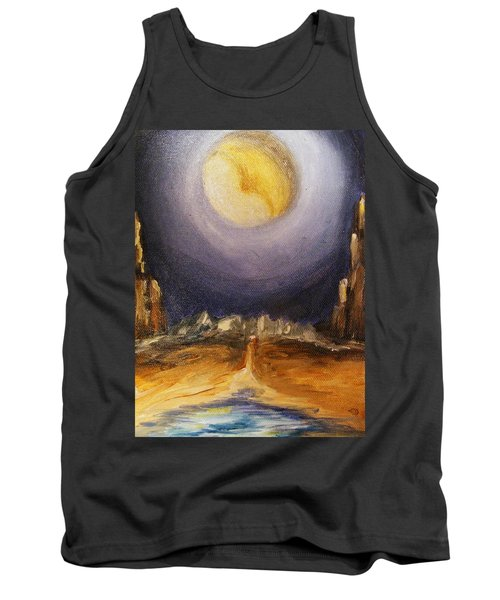 the Moon Tank Top