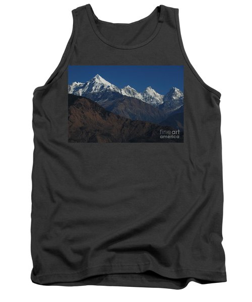 Tank Top featuring the photograph The Panchchuli Range by Fotosas Photography