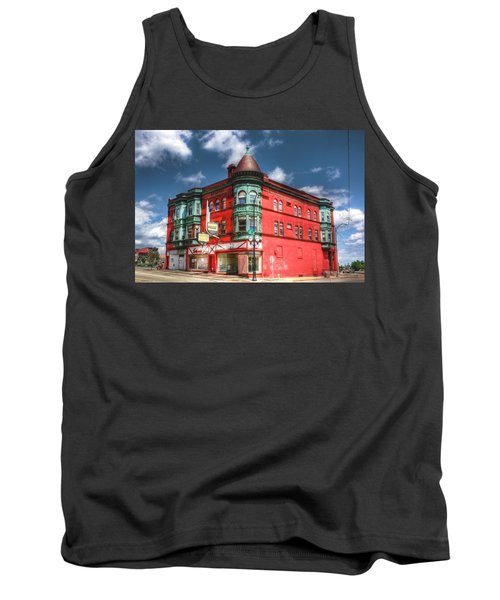 The Sauter Building Tank Top by Dan Stone