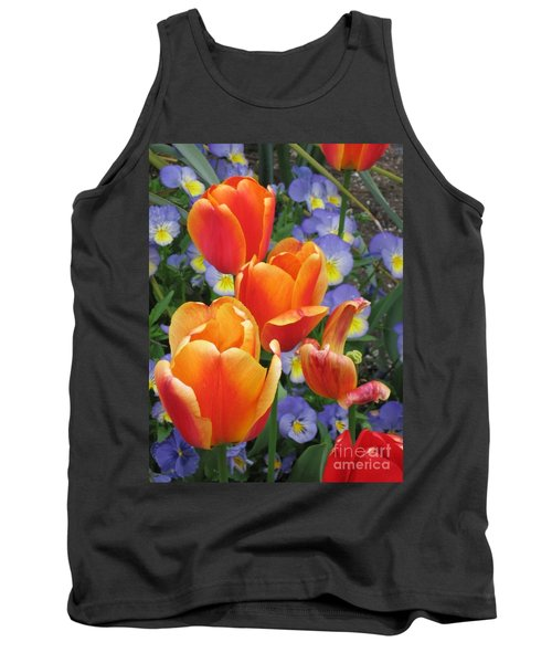 Tank Top featuring the photograph The Secret Life Of Tulips - 2 by Rory Sagner