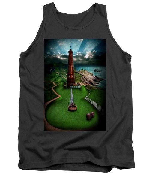The Sound Of Silence Tank Top by Alessandro Della Pietra