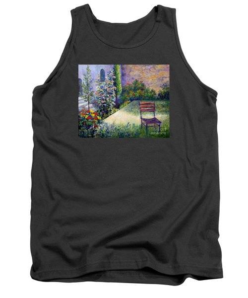 Tank Top featuring the painting The Unseen Guest by Lou Ann Bagnall