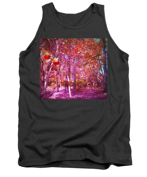 Tank Top featuring the photograph Thicket In Color by George Pedro