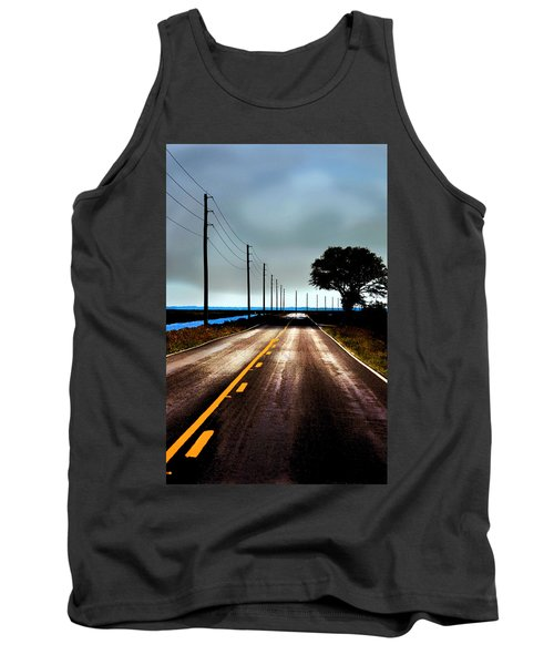 Towards The Coast Tank Top