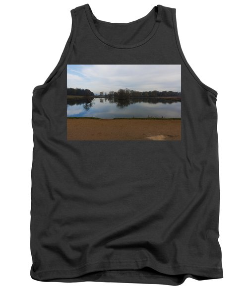 Tank Top featuring the photograph Tranquil by Maj Seda