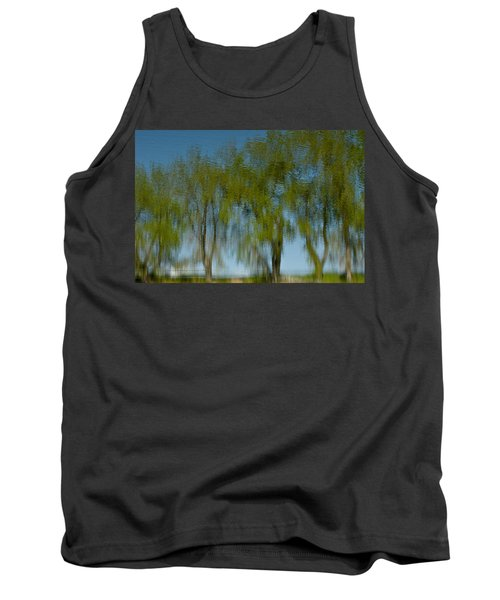 Tree Line Reflections Tank Top