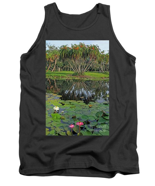 Tropical Splendor Tank Top by Larry Nieland