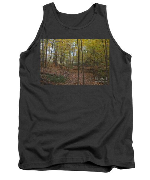 Tank Top featuring the photograph Tryon Park by William Norton