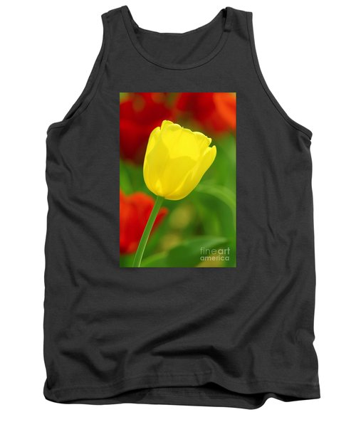 Tulipan Amarillo Tank Top