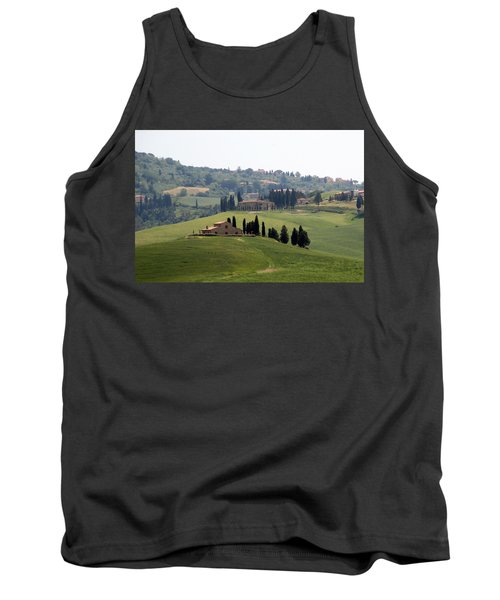 Tank Top featuring the photograph Tuscany by Carla Parris